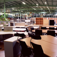 Purchase, sale and renting of used office furniture