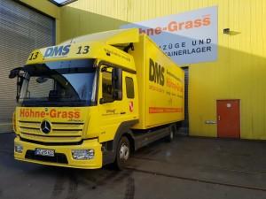 Atego Möbelwagen bei Höhne-Grass Mainz