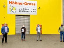 Newsbild Übergabe Crefozert bei Höhne-Grass Mainz
